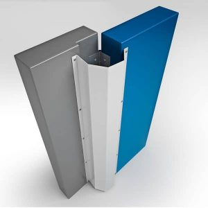 Fingershield 4 Panel Door Finger Guard - Open to 90 Degrees