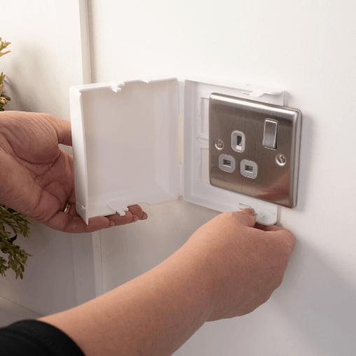 SocketLoc Single Plug Socket Cover